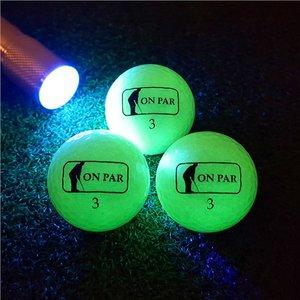 Glow V1 Golf Balls 3 ballen + Lader