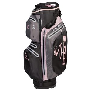 Cobra Ultradry Cartbag Charcoal Pink