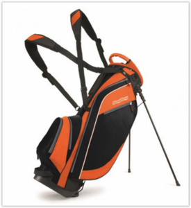 Bagboy Standbag Super Lite Zwart Oranje