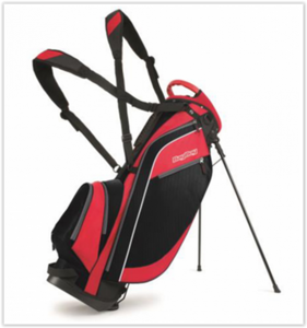 Bagboy Standbag Super Lite Zwart Rood