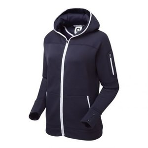 Footjoy Dames Full-Zip Fleece Hoodie Navy