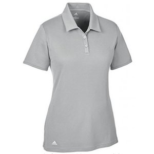 Adidas Tournament Dames Golf Polo Shirt Grijs