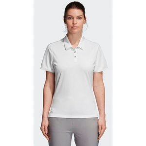 Adidas Tournament Dames Golf Polo Shirt Wit