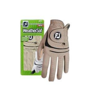 Footjoy Weathersof handschoen Heren Taupe