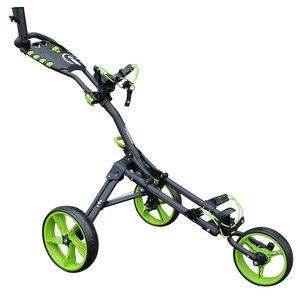 iCart One Compact 3 Wiel Golf Trolley Zwart Groen