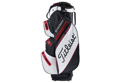 Titleist Cartbag StaDry Deluxe Black White