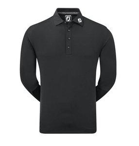 Footjoy Thermolite Golf Longsleeve Polo Zwart