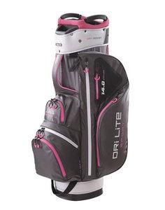 BigMax Dri Lite Sport 14.0 Series Cartbag Charcoal Pink