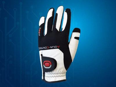 Zoom Aqua Control Flexx Fit Dames Golf Handschoen Wit Zwart