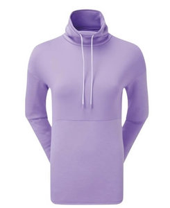 Footjoy Dames Funnel Collar Fleece Golf Sweater