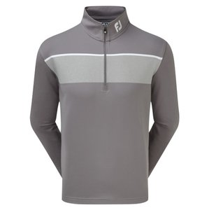 Footjoy Jersey Chest Stripe Chill-Out Pullover Grijs