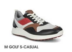 Ecco M Golf S-Casual Navy Red