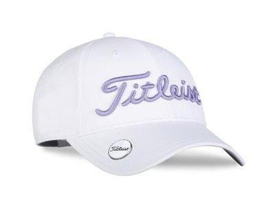 Titleist Ladies Tour Performance Ball Marker Cap White Lila