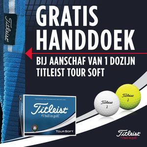 Titleist Tour Soft Golfballen Gratis Handdoek
