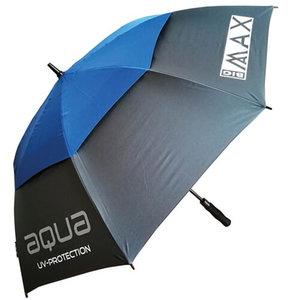 Big Max Aqua UV Golf Paraplu Charcoal Blauw