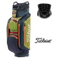 Titleist Cartbag StaDry Deluxe Black Olive Red